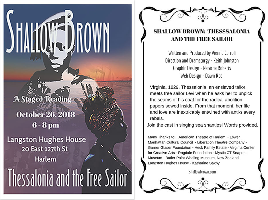 Shallow Brown: a play by Vienna Carroll